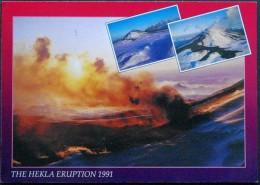 Iceland 1991 EUROPA   MiNr..742  Special Cancel Cards ( Lot 3039 ) - 1944-... Republique