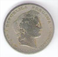PERU 20 CENTAVOS 1921 - Perú
