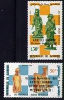 Echecs  Serie Neuve Surcharge Djibouti 1981 Y:548/549 Cote/value:5€ Chess Series MNH - Echecs