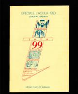 """Rivista  Filatelica """"TEMA '99"""" Edita  In Occasione Della Mostra Filatelica Tematica A L'Aquila - Altri Libri"""
