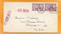 Newfoundland 1947 Cover Mailed To USA - 1908-1947