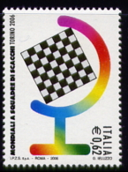 Echecs  Timbre Neuf  Italie 2006 Cote/value:4€ Chess Stamp MNH  Italy - Echecs