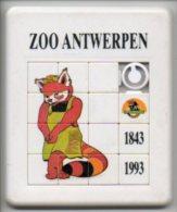 Zoo Antwerpen Anvers 150 Jaar 1993 Schuifraampje Spelletje Jouets - Obj. 'Souvenir De'