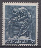 Vatican Mi.nr.:496 Die Arbeit Des Menschen 1966 Oblitérés / Used / Gestempeld - Oblitérés