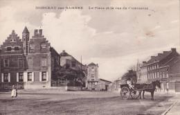 MONCEAU-SUR-SAMBRE : La Place Et La Rue Du Commerce - Charleroi