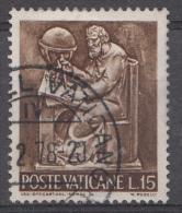Vatican Mi.nr.:492 Die Arbeit Des Menschen 1966 Oblitérés / Used / Gestempeld - Oblitérés