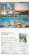 Civitavecchia, Italy Italia Postcard Posted 2007 Stamp - Civitavecchia
