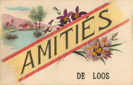 59 AMITIES DE LOOS ( SOUVENIR ) - Loos Les Lille