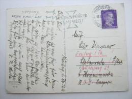 1941, RAD Lager , Karte Ins Lager - Deutschland