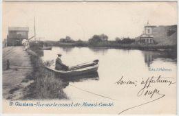 21638g CANAL De MONS à CONDE - St Ghislain - 1904 - Saint-Ghislain