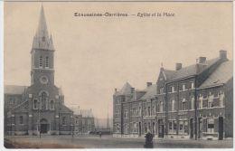 21779g PLACE - EGLISE - Ecaussines-Carrières - Ecaussinnes