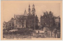 21787g EGLISE St-MICHEL - Luxembourg - Luxembourg - Ville