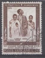 Vatican Mi.nr.:472 Heiligsprechung Der 22 Märtyrer Von Uganda 1965 Oblitérés / Used / Gestempeld - Oblitérés