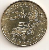 B263 / 2004 - 14000 CAEN - M�morial de Caen / un Mus�e pour la Paix / Jeep - Avion