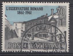 Vatican Mi.nr.:376 Zeitung L´Osservatore Romano 1961 Oblitérés / Used / Gestempeld - Oblitérés