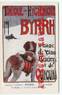 PUBLICITE BYRRH Par G. DEBIZE < CONCOURS D´AFFICHES 1906 < ART NOUVEAU < CP AUTHENTIQUE En TRES BON ETAT <  DOS SCANNE - Otros Ilustradores