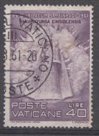 Vatican Mi.nr.:364 Todestag Von Hl.Meinrad 1961 Oblitérés / Used / Gestempeld - Oblitérés