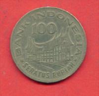 F3662 / - 100 Rupian - 1978 - INDONESIA  Indonesie  Indonesie  - Coins Munzen Monnaies Monete