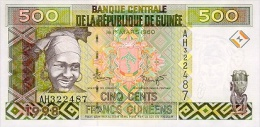 Guinea 500 Francs 1998 Pick 36 UNC - Guinea