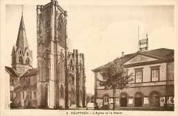 Fev14 1309: Rouffach  -  Eglise  -  Mairie - Rouffach
