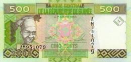 Guinea 500 Francs 2006 Pick 39 UNC - Guinea