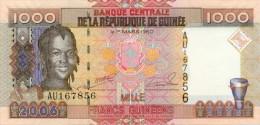 Guinea 1000 Francs 2006 Pick 40 UNC - Guinea