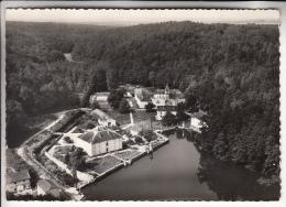 DARNEY 88 - Vue Aérienne Du Lac Du Chateai De Droiteval - CPSM Dentelée Noir Et Blanc GF - Vosges - Darney