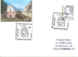 ITALIA - 2000 GROSCAVALLO (TO)  Giubileo 2000 - Santuario Nostra Signora Di Loreto - Churches & Cathedrals