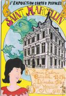 SAINT-MARCELLIN (Isère) - 1ère Exposition Cartes Postales - 13-14 Décembre 1986 - Ill. Robert Faraboz - Bourses & Salons De Collections