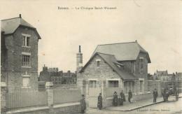 35 RENNES - LA CLINIQUE SAINT VINCENT ( ATTELAGE - CALECHE ) - Rennes