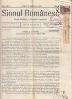 SIONUL ROMANESC NEWSPAPER, CHURCH NEWSPAPER, KING CHARLES 2ND STAMPS, 1937, ROMANIA - Zeitungen & Zeitschriften