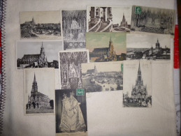 LOT DE 12 CARTES EGLISE BON-SECOURS...ROUEN - Cartes Postales