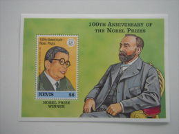 Nevis-Famous People-Nobel Prize Winner - St.Kitts And Nevis ( 1983-...)