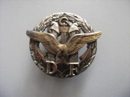 Insigne DF Douanes Françaises - Polizia