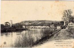 CASSENEUIL - Pont Suspendu Et Rives Du Lot   (66606) - Autres Communes