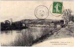 CASSENEUIL - Pont Suspendu Et Rives Du Lot   (66607) - Autres Communes
