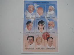 Sierra Leone-Famous People-Nobel Prize Winner - Sierra Leona (1961-...)