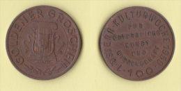 Austria Gettone Monetale Da 50 Goldner Groschen  1950 - Professionali / Di Società