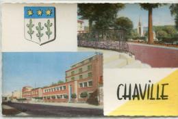 CPSM 92 CHAVILLE MULTI VUES - Chaville