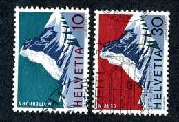 2604 Switzerland 1965  Michel #820-21  Used  Scott #467-68 ~Offers Always Welcome!~ - Gebraucht