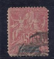 Colonies  Légende Nelle Caledonie 50c N°51 - Gebraucht