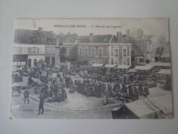 CPA 10 ROMILLY SUR SEINE MARCHE AUX LÉGUMES - Romilly-sur-Seine