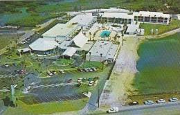 Florida Tampa Causeway Inn Aerial View
