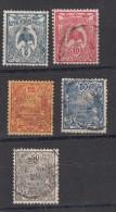 Nelle Caledonie  Série 1922    5 Valeurs - Gebraucht