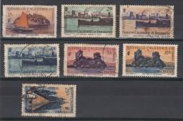 Nelle Caledonie  Série 1948  7 Valeurs - Nouvelle-Calédonie