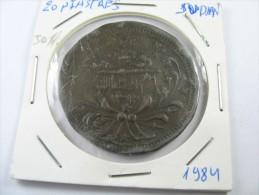 SUDAN 20 PIASTRES BIG COIN 1312 AH 1894 LOT 15 NUM 12 - Soudan