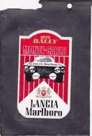 Sticker Marlboro - Lancia - Rally Monte Carlo 1973 - Automovilismo - F1