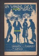 Partition Ancienne Illustrée Par Pous Thomis - La Valse Des Ombres - Danerty , Geo Charley , P. Sego - Montmartre - Partituren