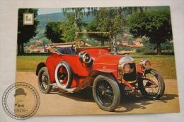 Classic Car Postcard: Philos 1914 - 6 HP Engine Ballot - Zenith Carburetor - Turismo