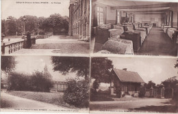 """EVREUX -  LOT  De 4 Cartes """" Collége ST FRancois """" (Dont Pavillon ,Dortoir  ,ecole ,terrasse  .) - Evreux"""